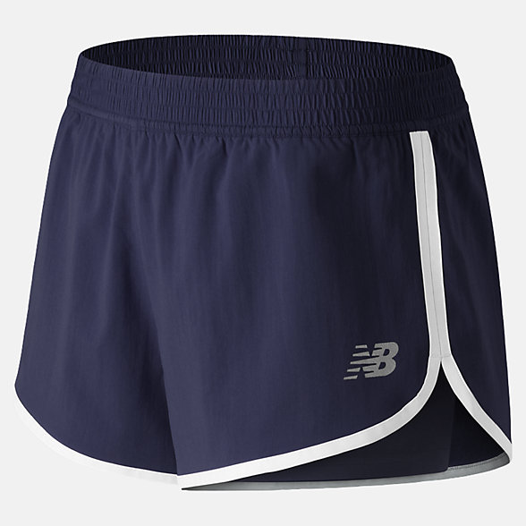 New Balance Accelerate 2 In 1 Train Short, WS91140PGM