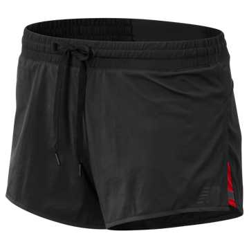 New Balance Q Speed Track Short, Black