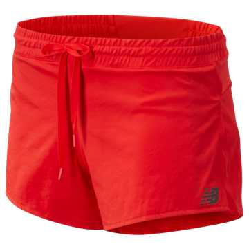 New Balance Q Speed Track Short, Velocity Red
