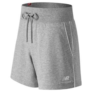 New Balance Essentials Pinstripe Short, Athletic Grey