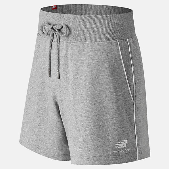 New Balance Short à fines rayures Essentials, WS91592AG