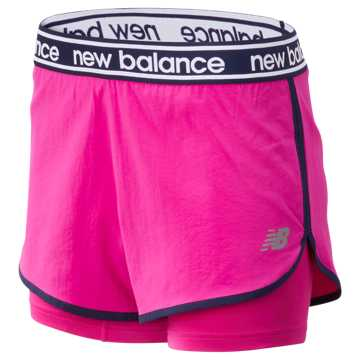 New Balance Relentless 2 In 1 Short, Carnival