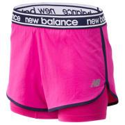 New Balance Relentless 2 In 1 Short, Carnival