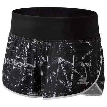 New Balance NYC Marathon Printed Impact Short 3 Inch, Black