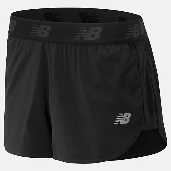 NB Accelerate 2.5 in Shorts, WS93270BK