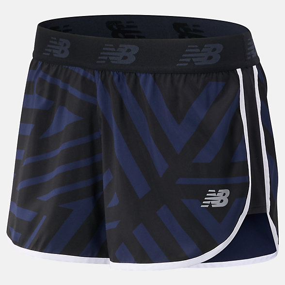 NB Short Printed Accelerate 2.5 In, WS93272BPI