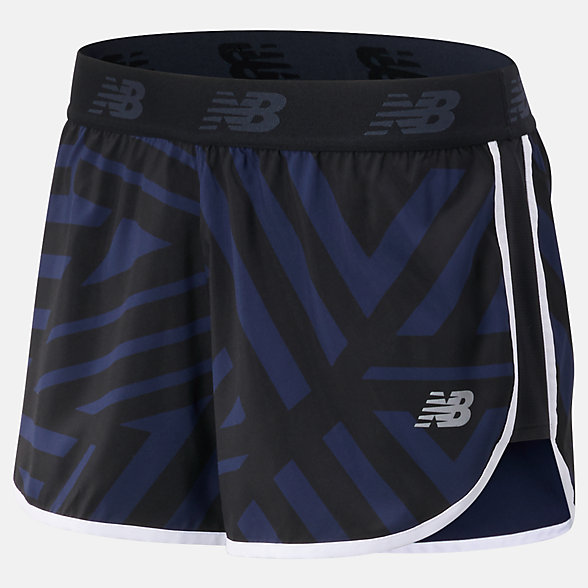 NB Printed Accelerate 2.5 in Shorts, WS93272BPI