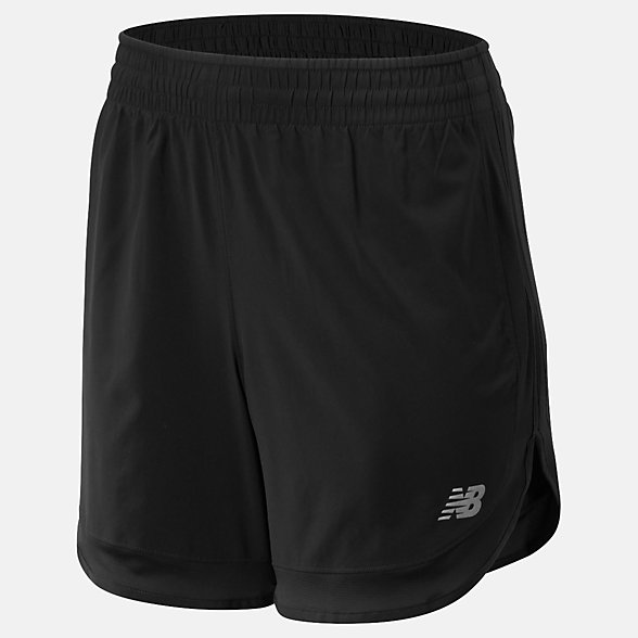 NB Short Accelerate 5 In, WS93274BK