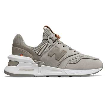 New Balance 997 Sport, Warm Alpaca with Faded Mahogany