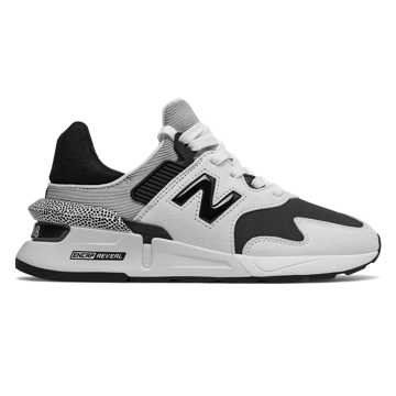 New Balance 997 Sport, White with Black