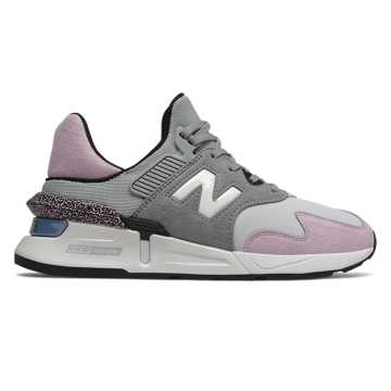 New Balance 997 Sport, Steel with Pink