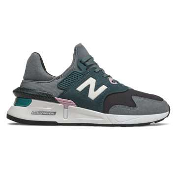 New Balance 997 Sport, Black with Gunmetal