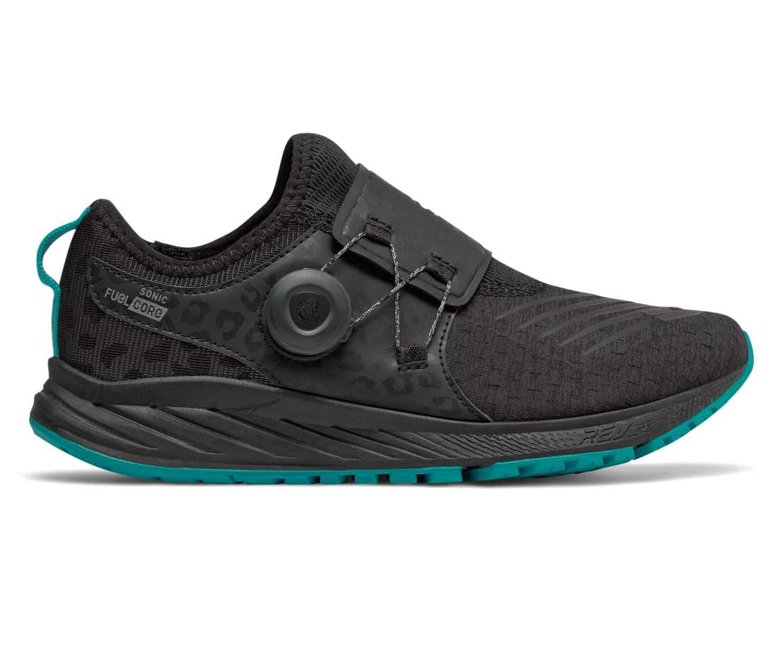 New Balance FuelCore Sonic Viz Pack, Black with Pisces