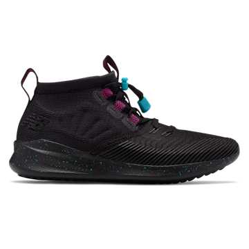 New Balance Cypher Run, Black with Poisonberry