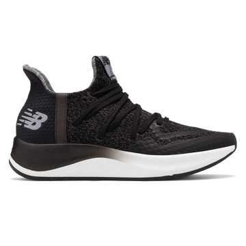 New Balance Cypher Run v2, Black with White
