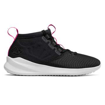 New Balance Cypher Run, Black with Pink Glo