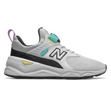 New Balance X-90, White with Light Tidepool