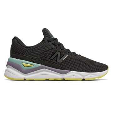 New Balance X-90, Black with Lemonade