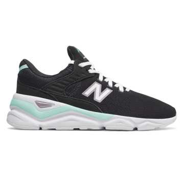 New Balance X-90, Black with Light Reef