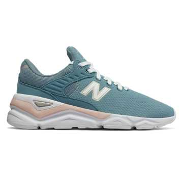 New Balance X-90, Bluefog with Oyster Pink