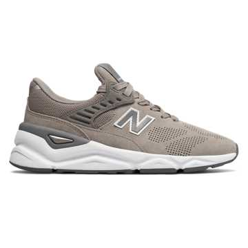 New Balance X-90, Flat White with White