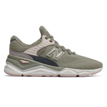 New Balance X-90, Military Urban Grey with Conch Shell