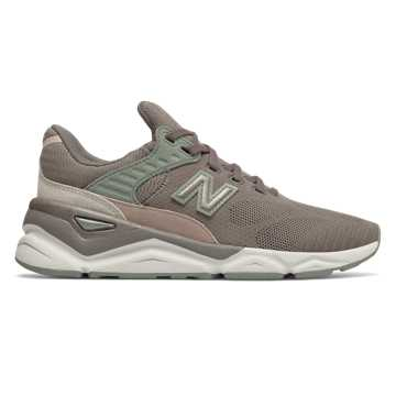New Balance X-90, Dark Gull Grey with Seed