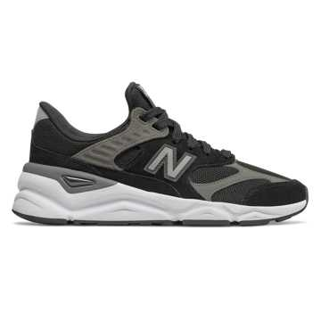 New Balance X-90 Reconstructed, Black with Castlerock
