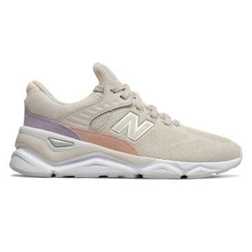 New Balance X-90, Moonbeam with Camp Smoke