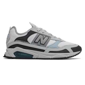 New Balance X-Racer, Light Aluminum with Supercell