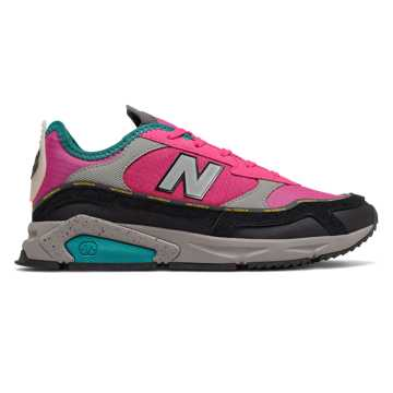 New Balance X-Racer, Exuberant Pink with Black