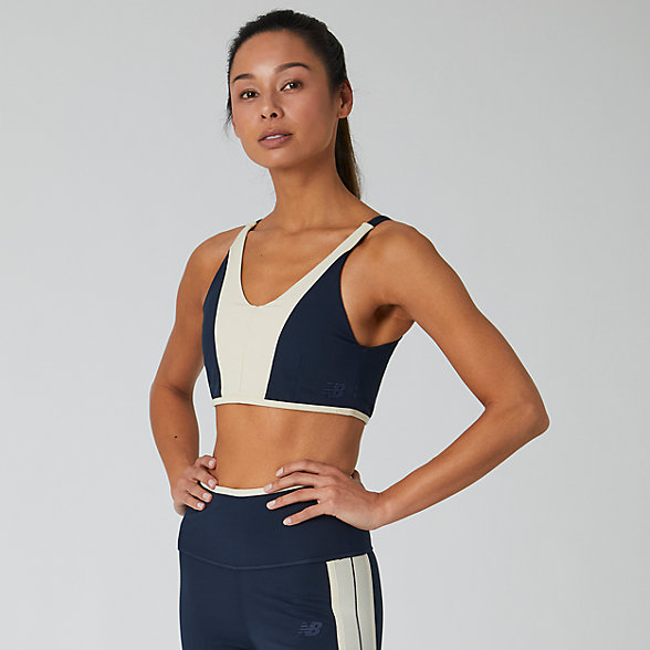New Balance Determination Legacy Crop Bra, WT01117ECL