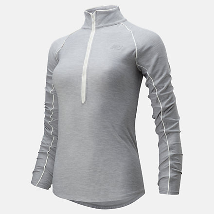 New Balance Transform 1/2 Zip, WT01137AG image number null