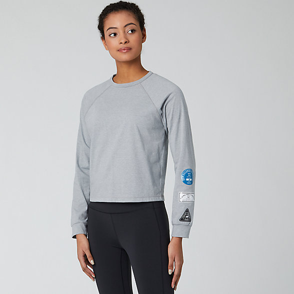 NB Relentless Ringer Long Sleeve, WT01159AG