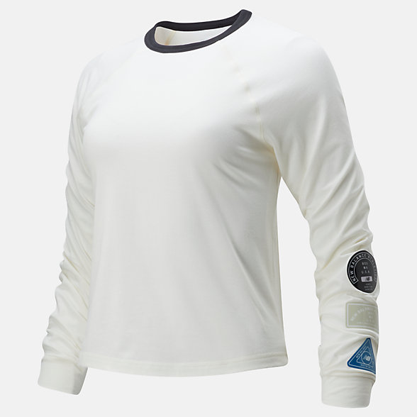 New Balance Relentless Ringer Long Sleeve, WT01159SST