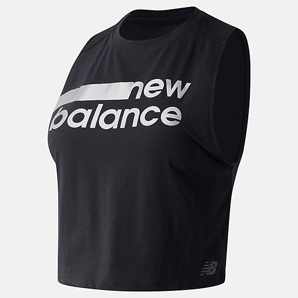 NB Relentless Crop Novelty Tank, WT01162PHM