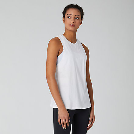 New Balance Relentless Tank, WT01180WT image number null