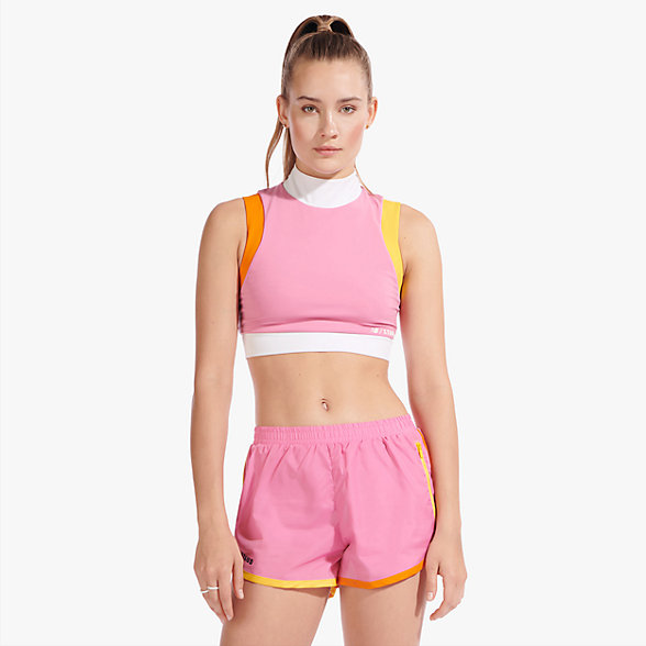 New Balance Staud Crop Top, WT01188PKO