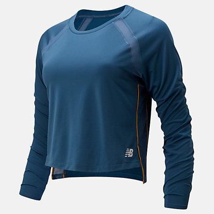 NB Fast Flight Long Sleeve, WT01201SNB image number null
