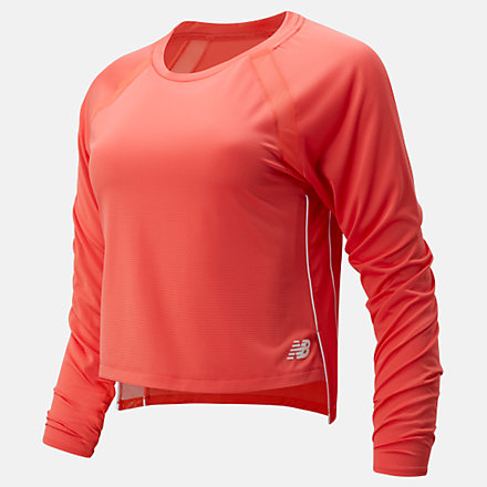 New Balance Fast Flight Long Sleeve, WT01201TOR image number null