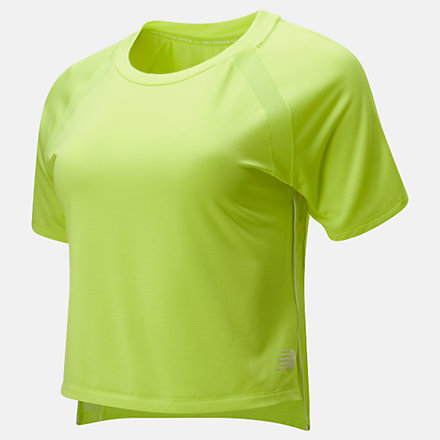 NB Fast Flight Short Sleeve Top, WT01224LS2 image number null