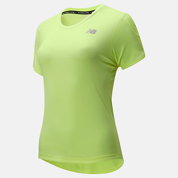 New Balance Impact Run Short Sleeve, WT01234LS3