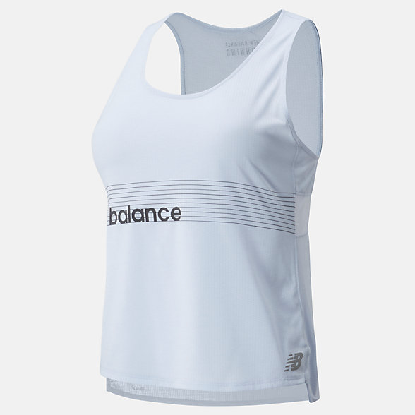 New Balance Singlet de course Impact Run, WT01238MND