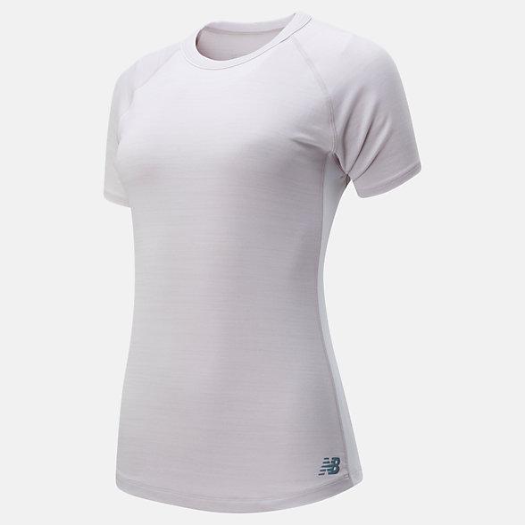 New Balance Q Speed Seasonless Short Sleeve, WT01251LOR