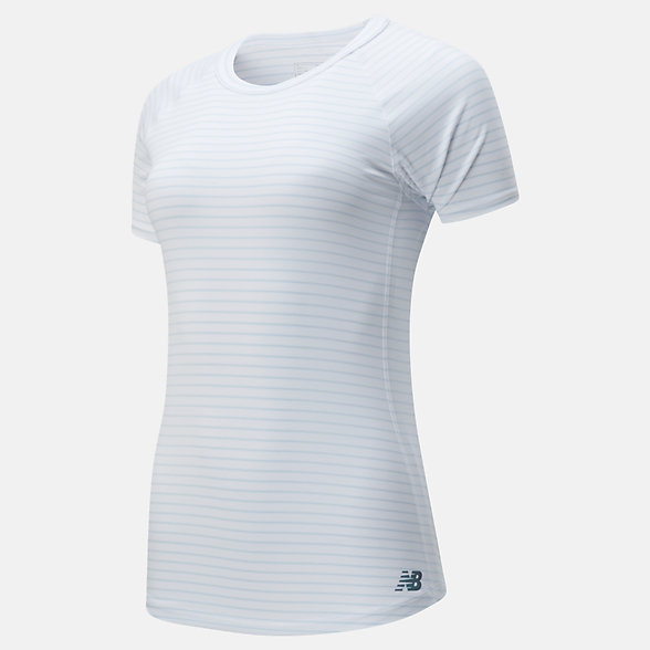New Balance Q Speed Seasonless Short Sleeve, WT01251WM
