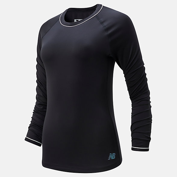 New Balance Q Speed Seasonless Long Sleeve, WT01252BK