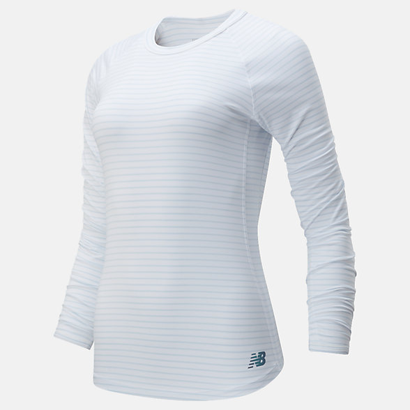 New Balance Q Speed Seasonless Long Sleeve, WT01252WM