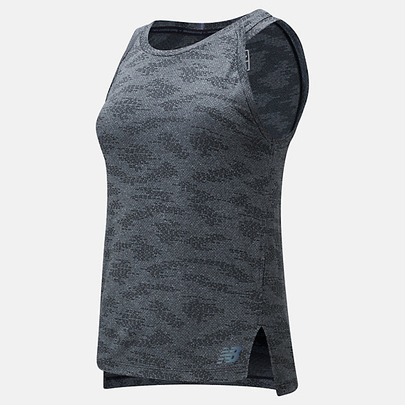 NB Q Speed Jacquard Tank, WT01254HC