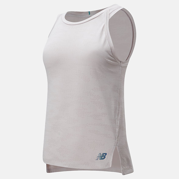 New Balance Q Speed Jacquard Tank, WT01254LWD