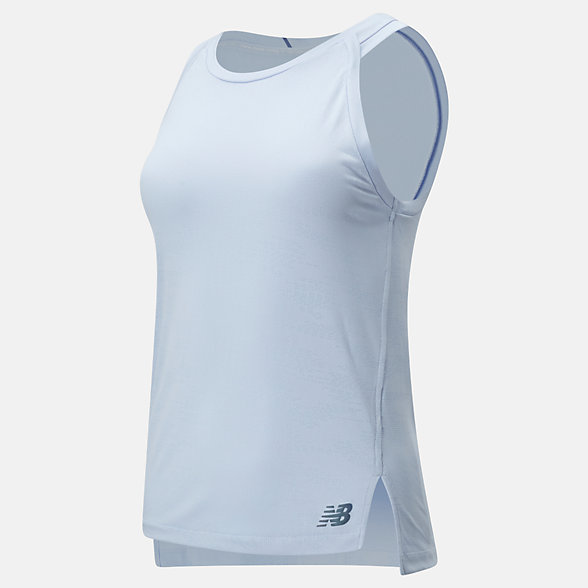 New Balance Q Speed Jacquard Tank, WT01254MDH